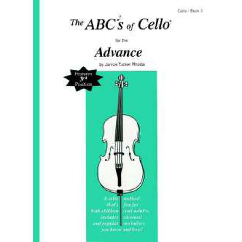 Titelbild für CF -ABC17 - ABC OF CELLO 3 - ADVANCED