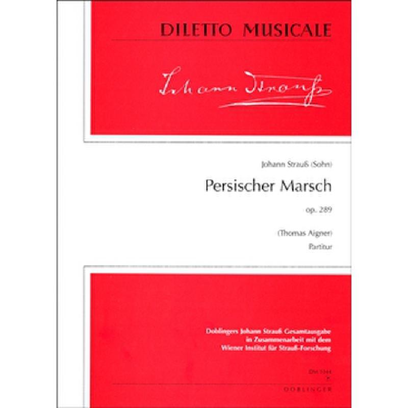 Titelbild für DM 1044-P - PERSISCHER MARSCH OP 289