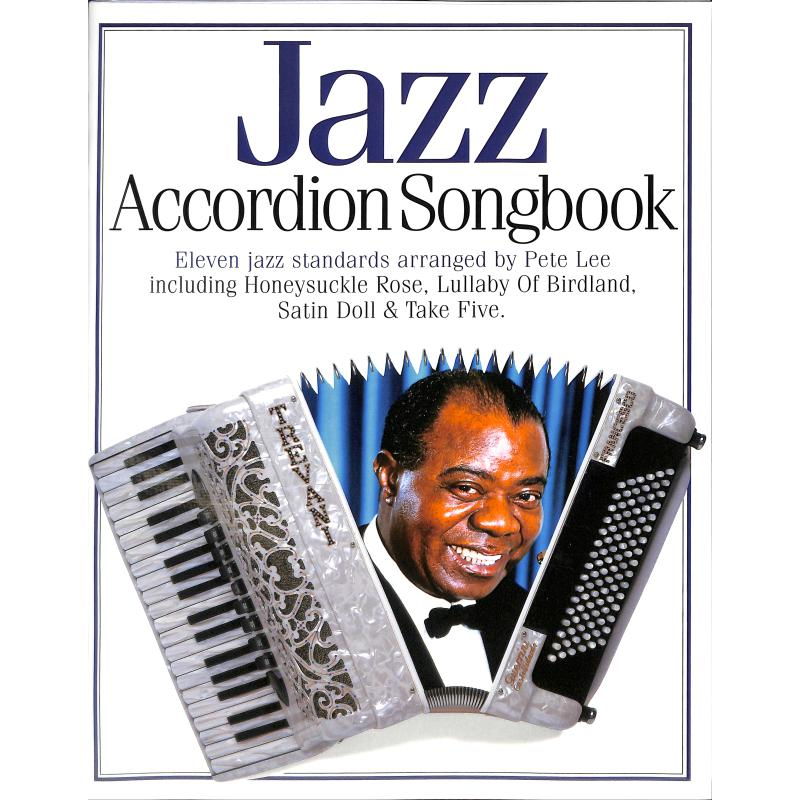 Titelbild für MSAM 942656 - JAZZ ACCORDION SONGBOOK