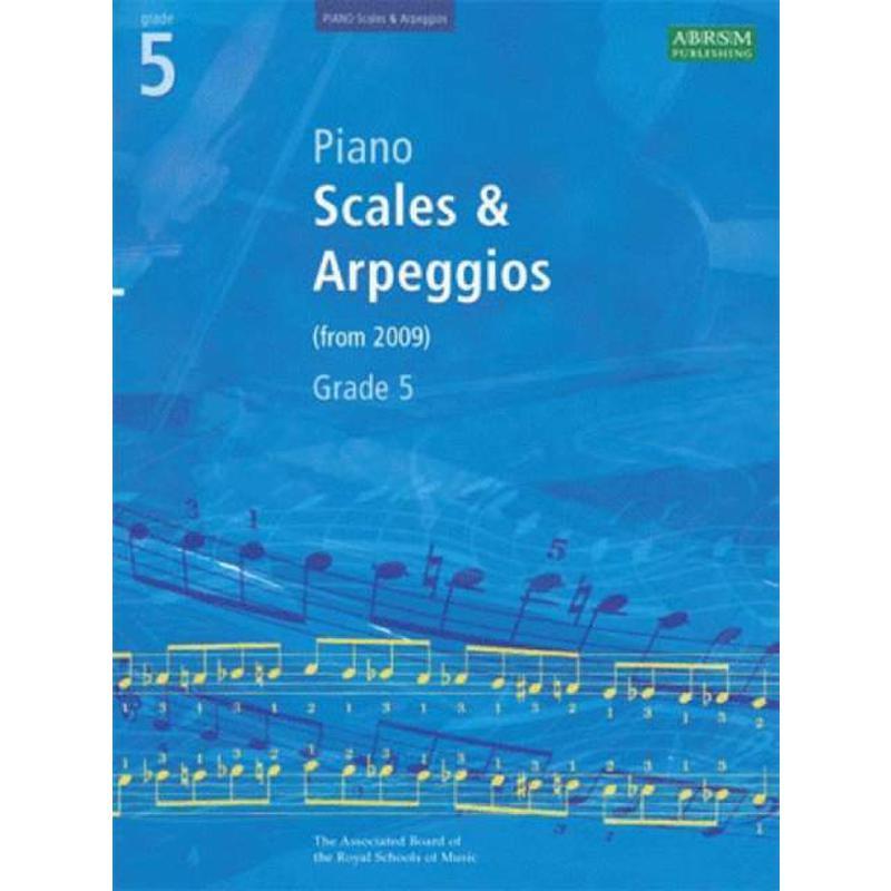 Titelbild für ABRSM 9171 - SCALES + ARPEGGIOS GRADE 5 (FRO