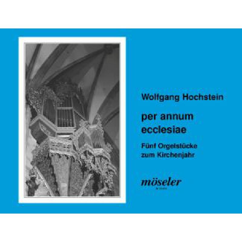 Titelbild für M 19476 - PER ANNUM ECCLESIAE