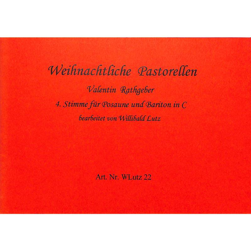 Titelbild für WLUTZ 22 - WEIHNACHTLICHE PASTORELLEN