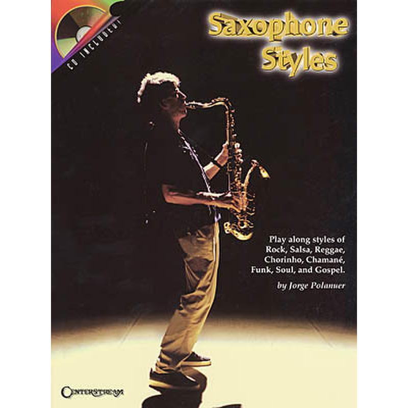 Titelbild für HL 242 - SAXOPHONE STYLES