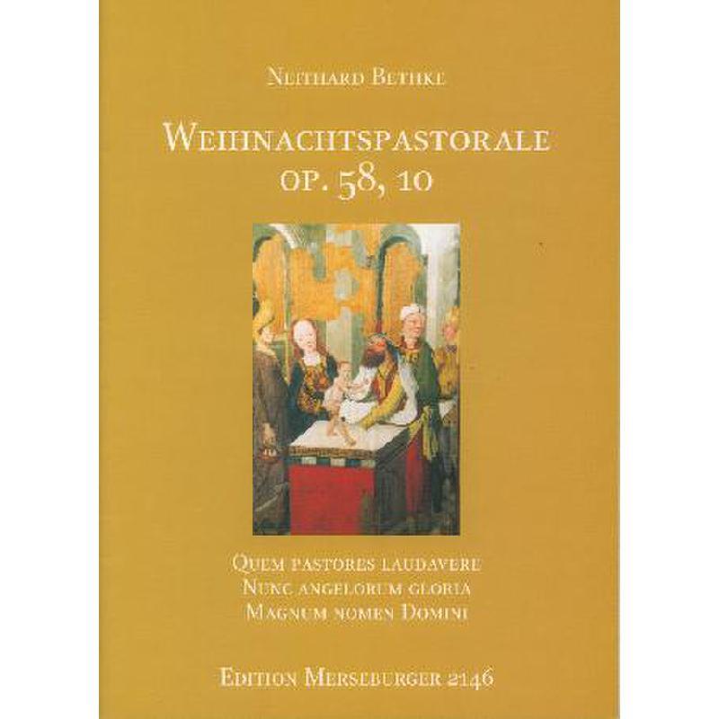 Titelbild für MERS 2146 - WEIHNACHTSPASTORALE OP 58/10 (LUDI ORGANI 3 OP 58/1-10)