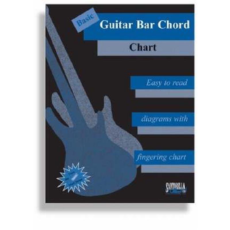 Titelbild für SANTOR -TS227 - BASIC GUITAR BAR CHORD CHART
