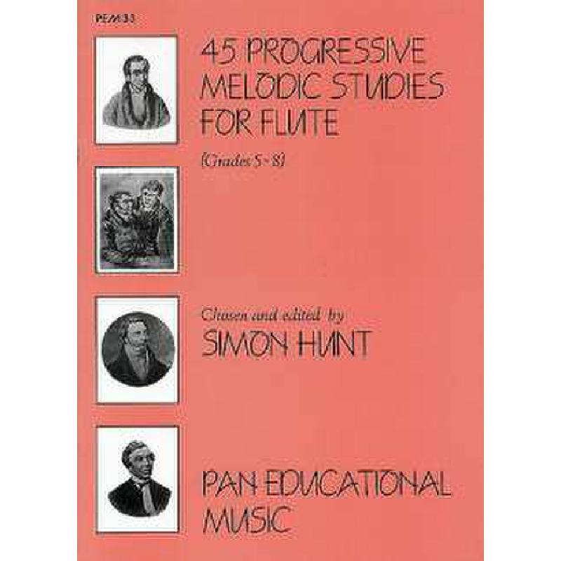 Titelbild für PEM 33 - 45 PROGRESSIVE MELODIC STUDIES