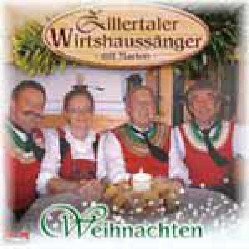 Titelbild für ZILL 30007 - WEIHNACHTEN - ZILLERTALER WIRTSHAUSSAENGER MIT MARION