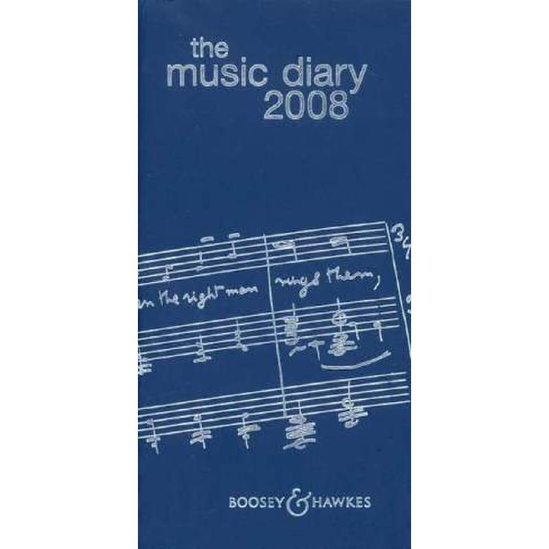 Titelbild für BH 11910 - THE MUSIC DIARY 2008