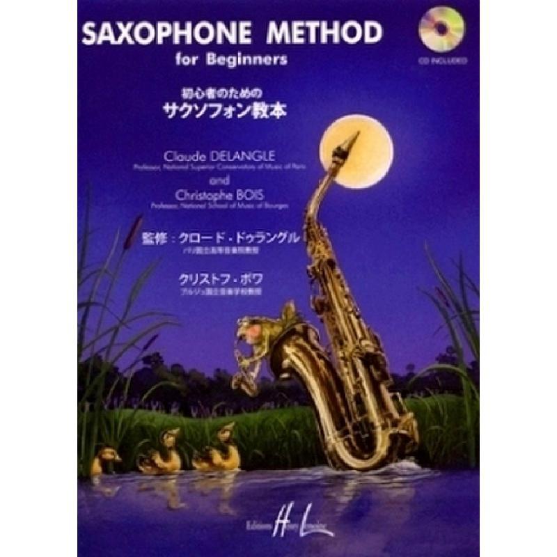 Titelbild für LEMOINE 28078 - SAXOPHONE METHOD FOR BEGINNERS 1