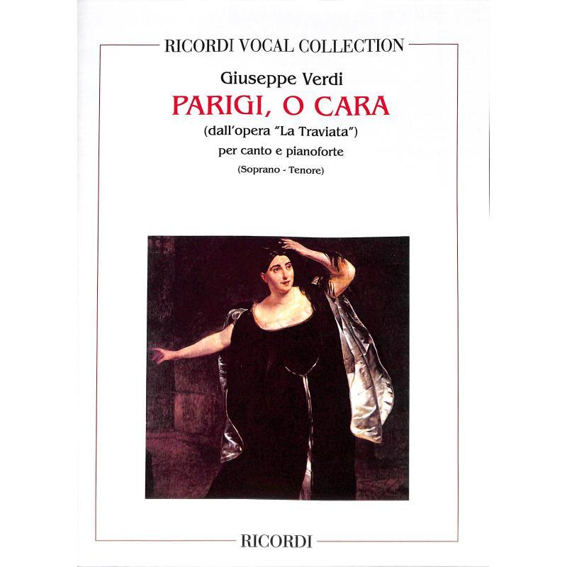 Titelbild für NR 110212 - PARIGI O CARA (LA TRAVIATA)