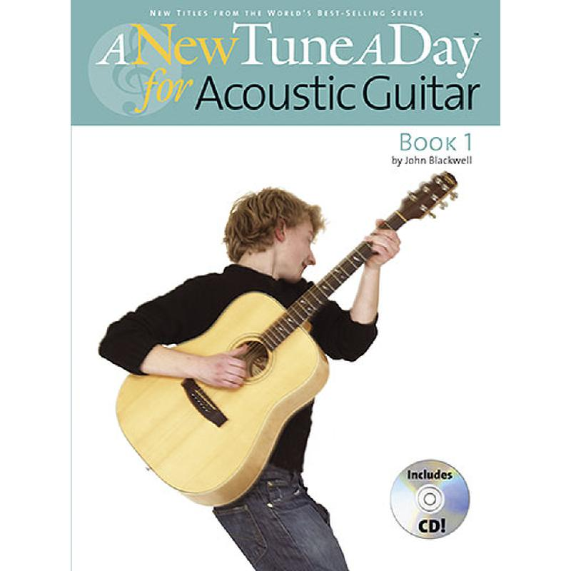 Titelbild für MSBM 11484 - A NEW TUNE A DAY FOR ACOUSTIC GUITAR 1