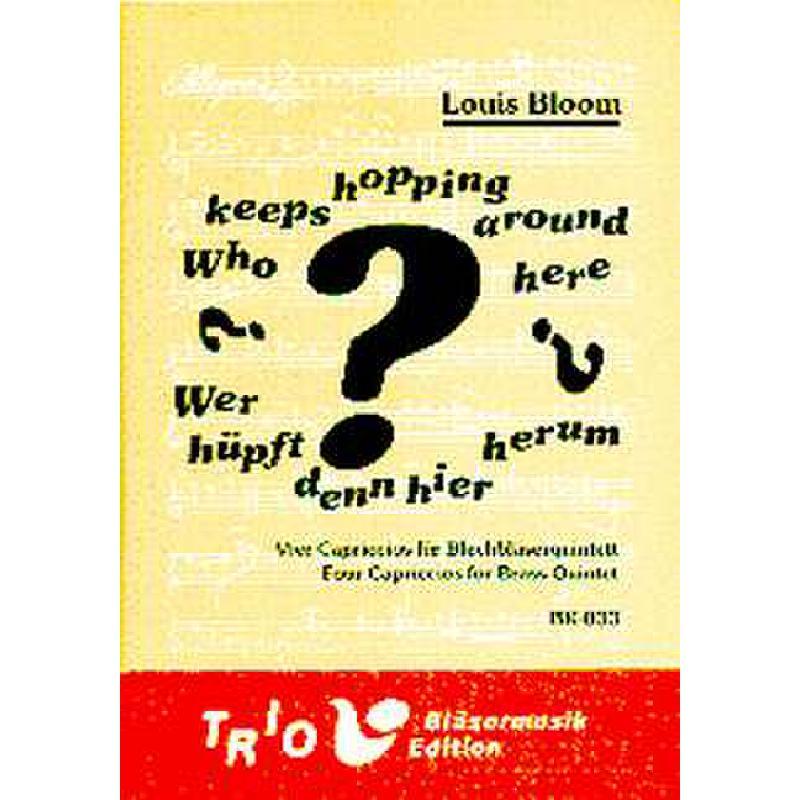Titelbild für TRIO -BK033 - WHO KEEPS HOPPING AROUND HERE