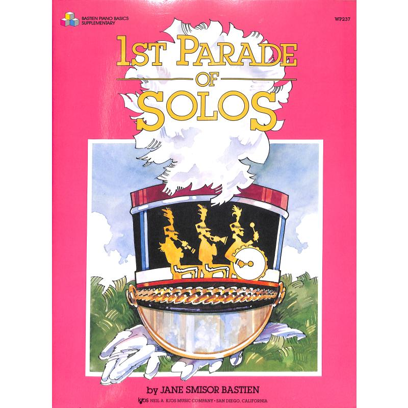 Titelbild für KJOS -WP237 - PARADE OF SOLOS 1