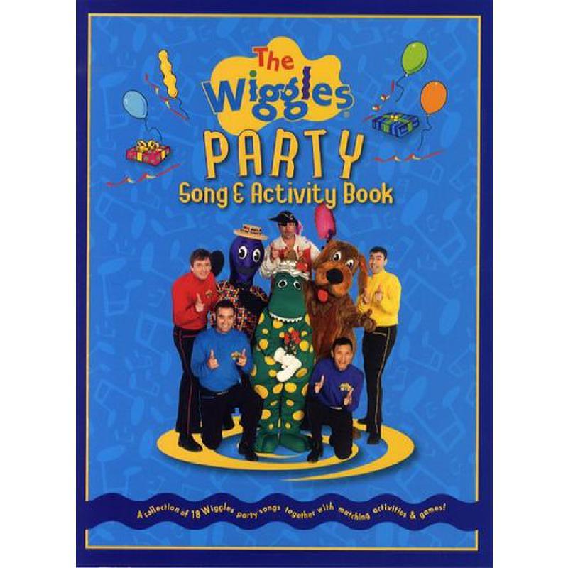 Titelbild für MSMS 04088 - PARTY SONG + ACTIVITY BOOK