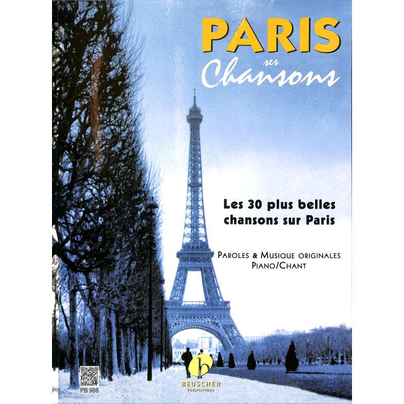 Titelbild für EPB 988 - PARIS SES CHANSONS