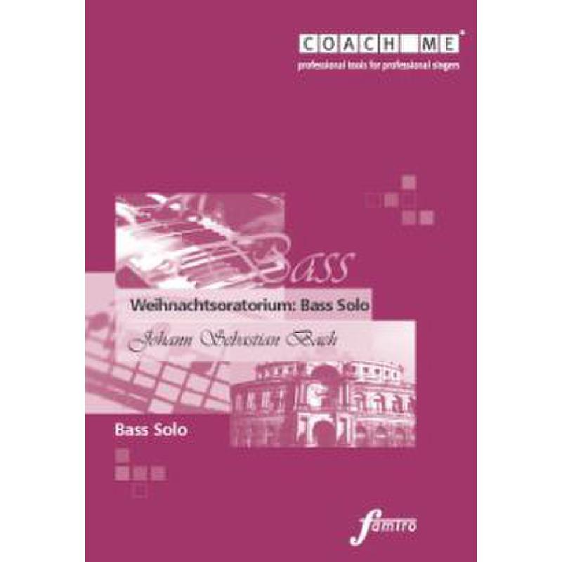 Titelbild für FMMS 31-04 - WEIHNACHTSORATORIUM BWV 248 - BASS SOLO