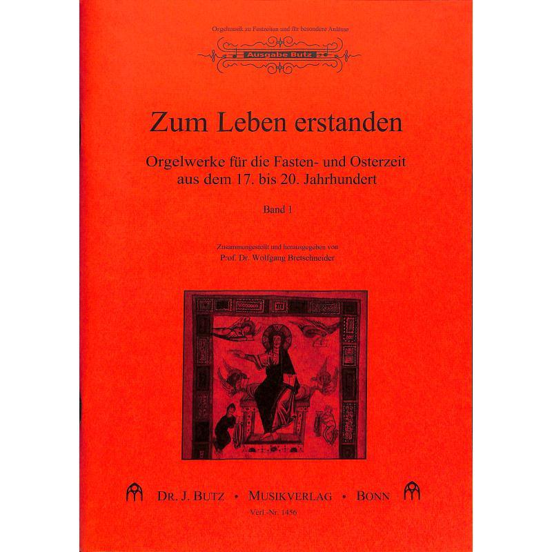 Titelbild für BUTZ 1456 - ZUM LEBEN ERSTANDEN