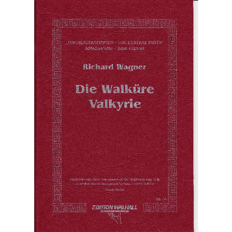 Titelbild für WALHALL 76 - WALKUERE - ORCHESTERSTUDIEN