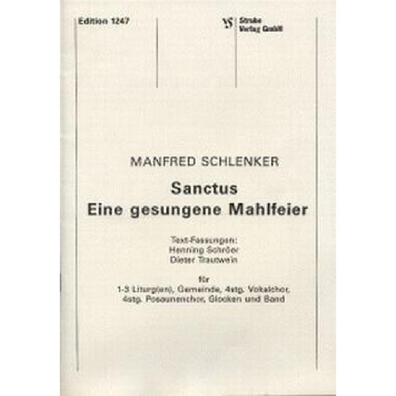 Titelbild für VS 1247 - SANCTUS EINE MAHLFEIER