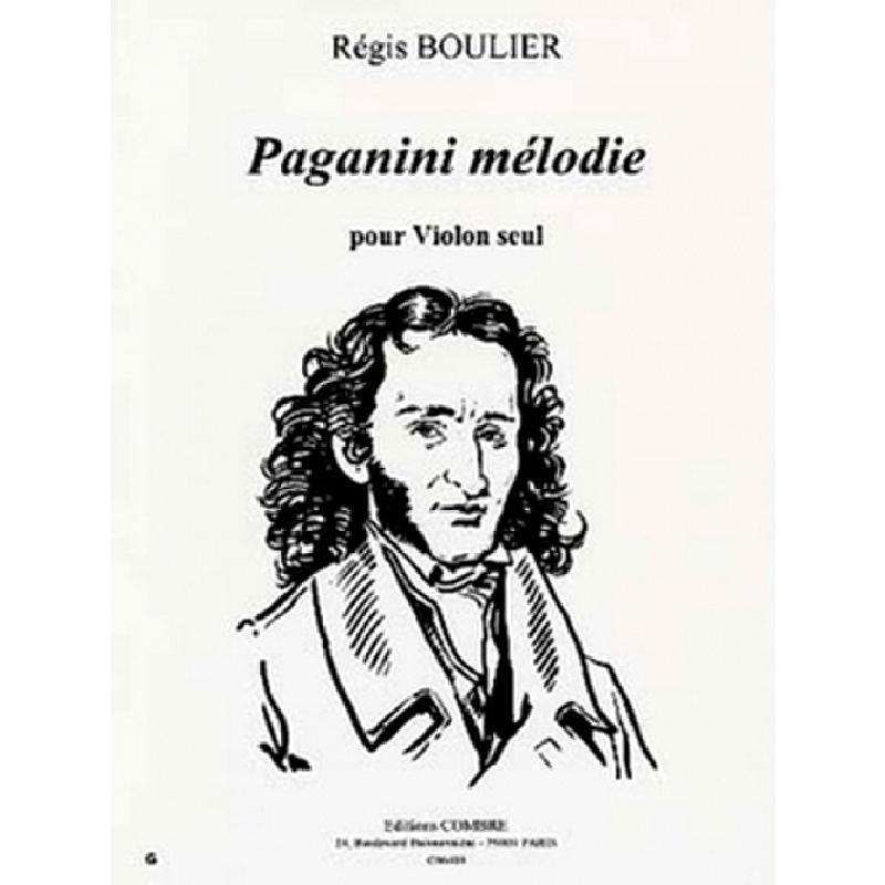 Titelbild für COMBRE 6400 - PAGANINI MELODIE