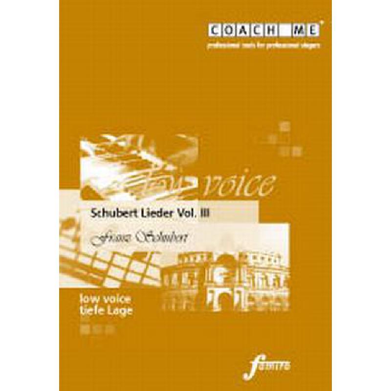 Titelbild für FMMS 65-10 - LIEDER 3 - TIEF
