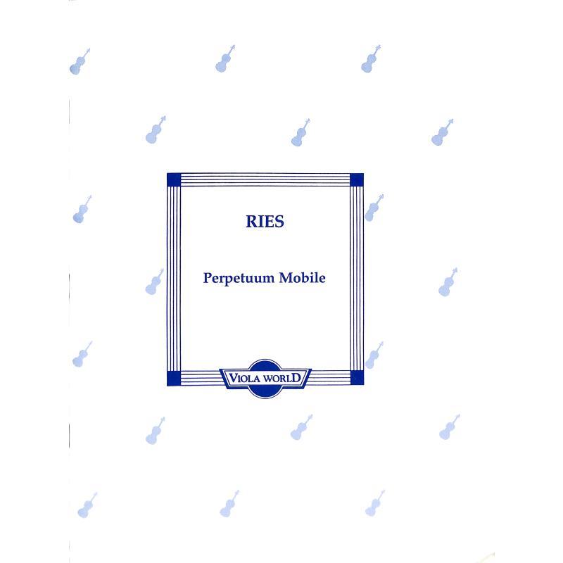 Titelbild für VWP 000035 - PERPETUUM MOBILE OP 34/5
