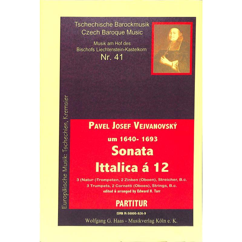 Titelbild für HAAS 926-9 - SONATA ITTALICA A 12