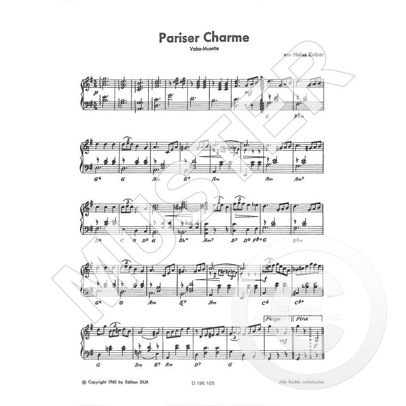 Titelbild für D 196105 - PARISER CHARME