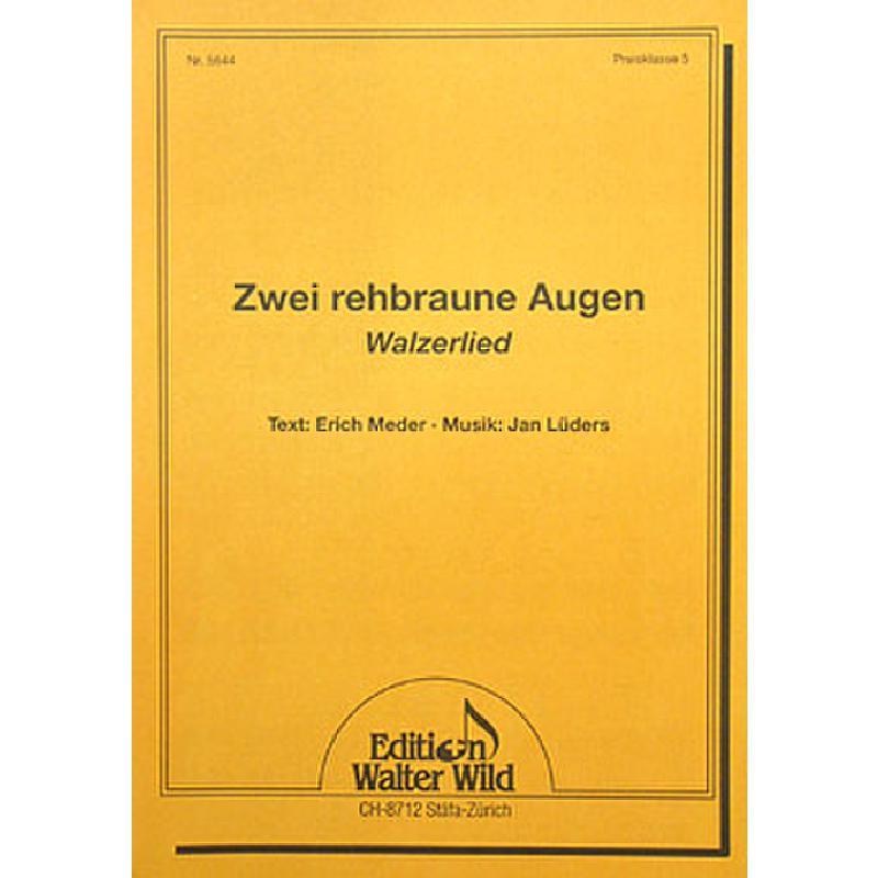 Titelbild für WILD 5644 - ZWEI REHBRAUNE AUGEN