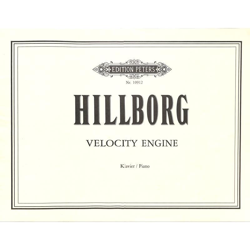 Titelbild für EP 10912 - VELOCITY ENGINE