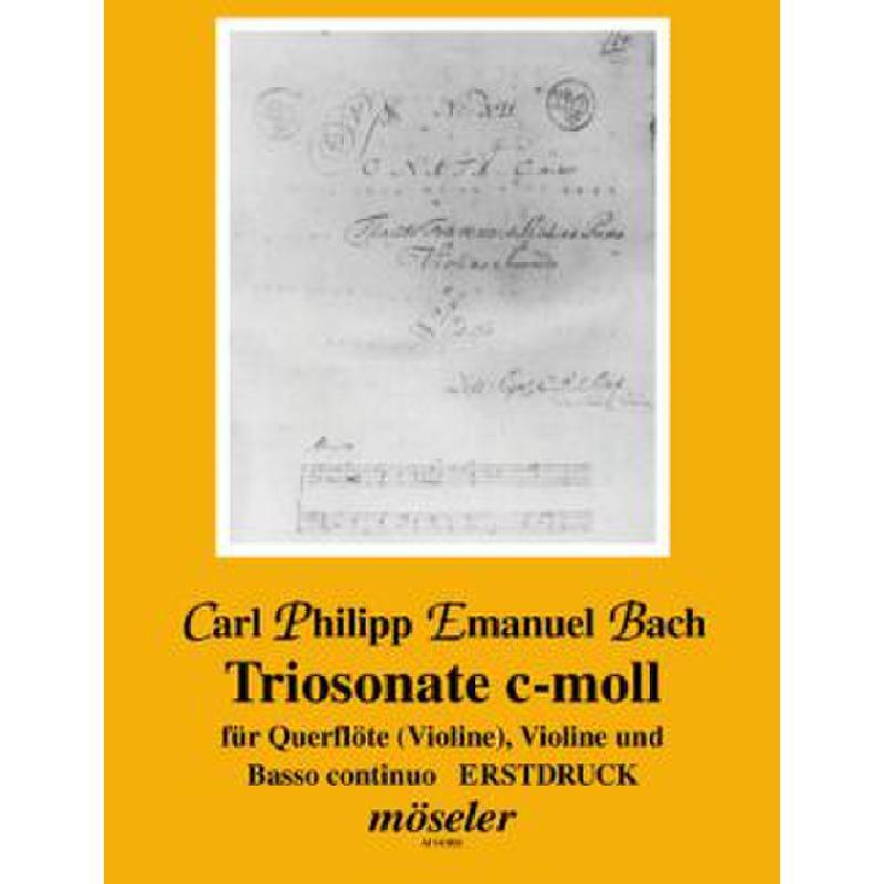 Titelbild für M 14009 - TRIOSONATE C-MOLL