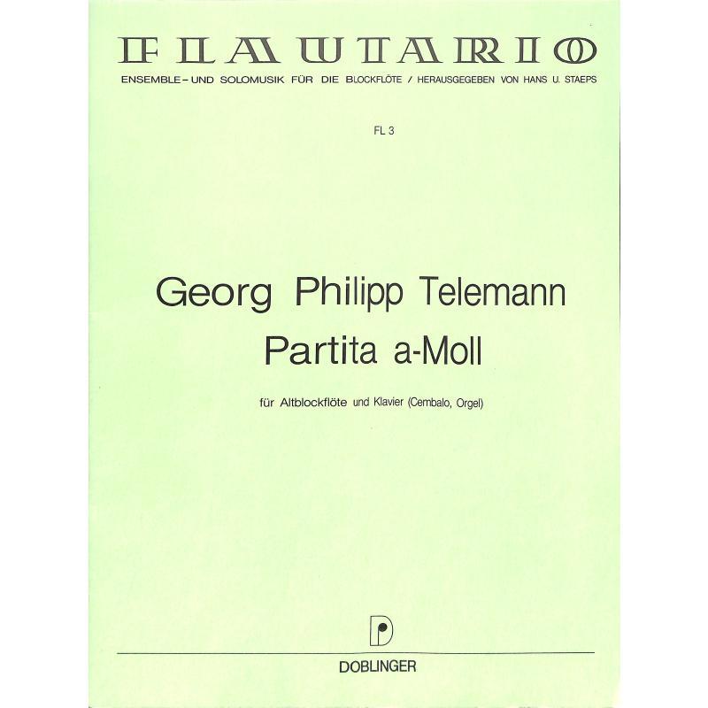 Titelbild für FL 3 - PARTITA A-MOLL