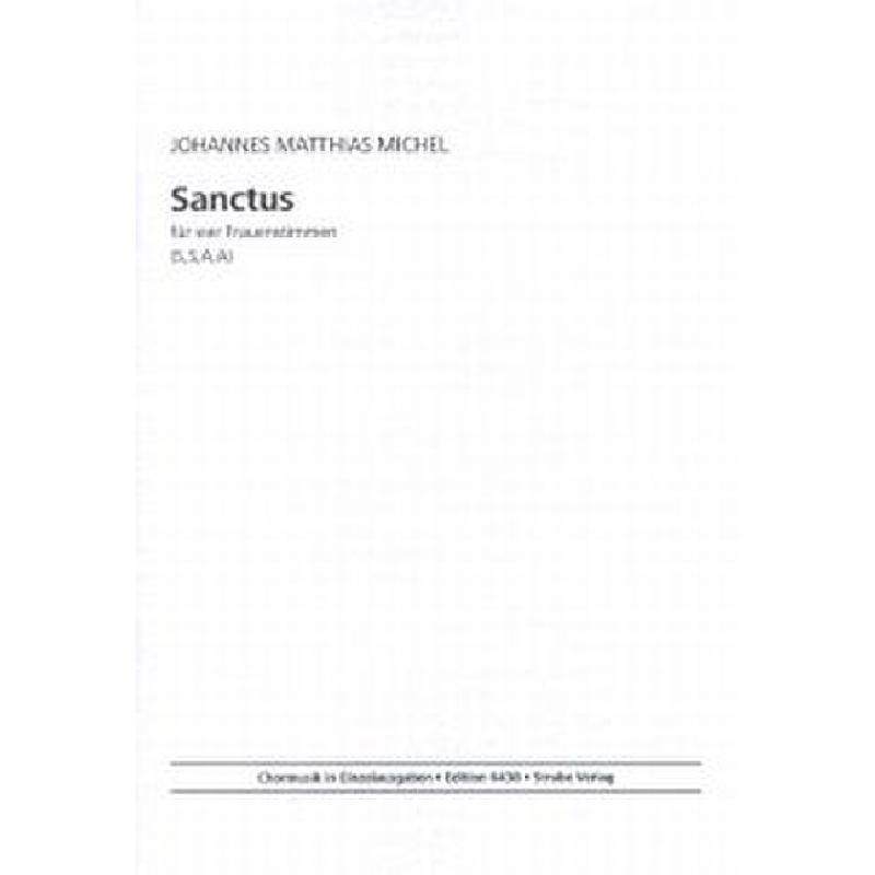 Titelbild für VS 6438 - SANCTUS