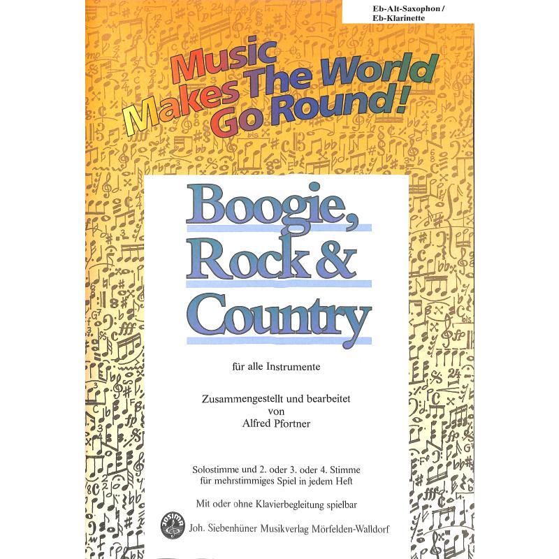 Titelbild für SIEB 21604 - BOOGIE ROCK & COUNTRY