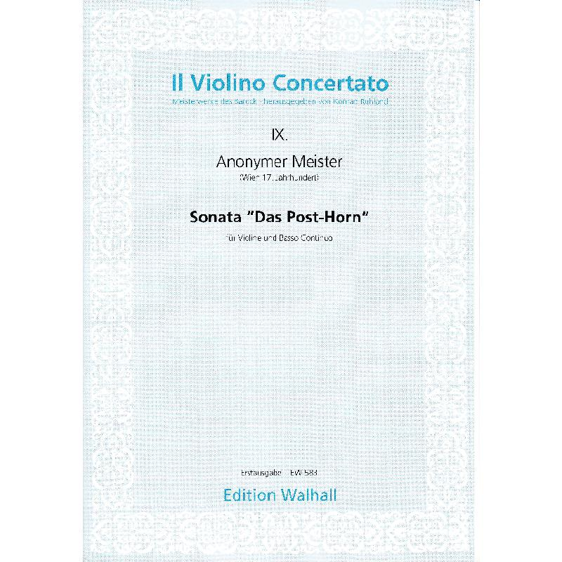 Titelbild für WALHALL 583 - SONATA DAS POSTHORN