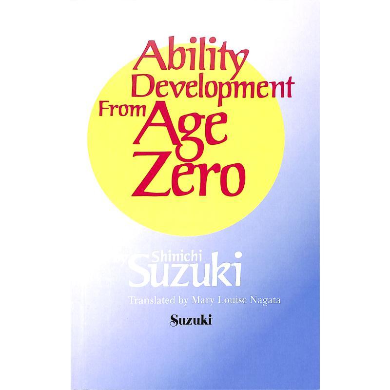 Titelbild für SBM 0580 - ABILITY DEVELOPMENT FROM AGE ZERO