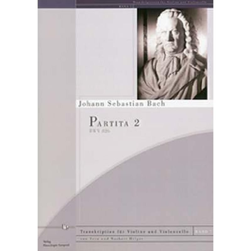 Titelbild für KAMPRAD 06-5 - PARTITA 2 C-MOLL BWV 26