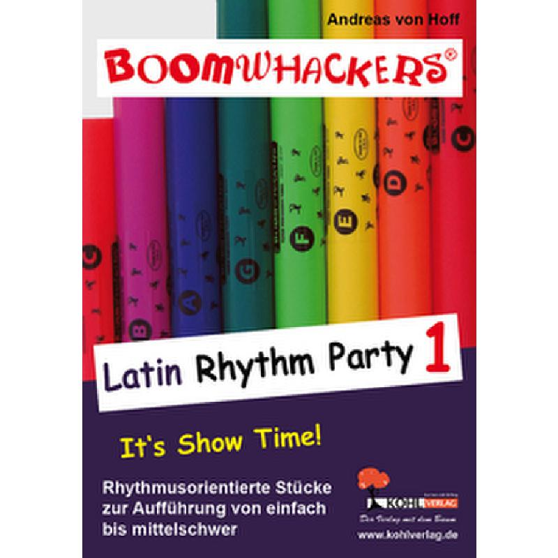 Titelbild für KOHL 10890 - BOOMWHACKERS - LATIN RHYTHM PARTY 1
