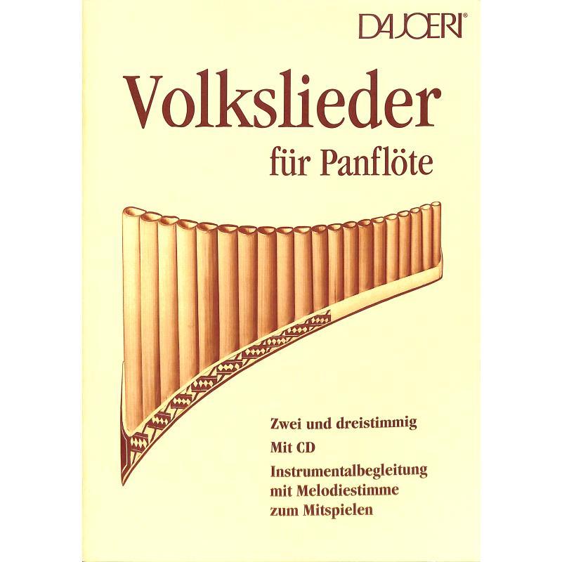Titelbild für DAJOERI 1117 - VOLKSLIEDER FUER PANFLOETE