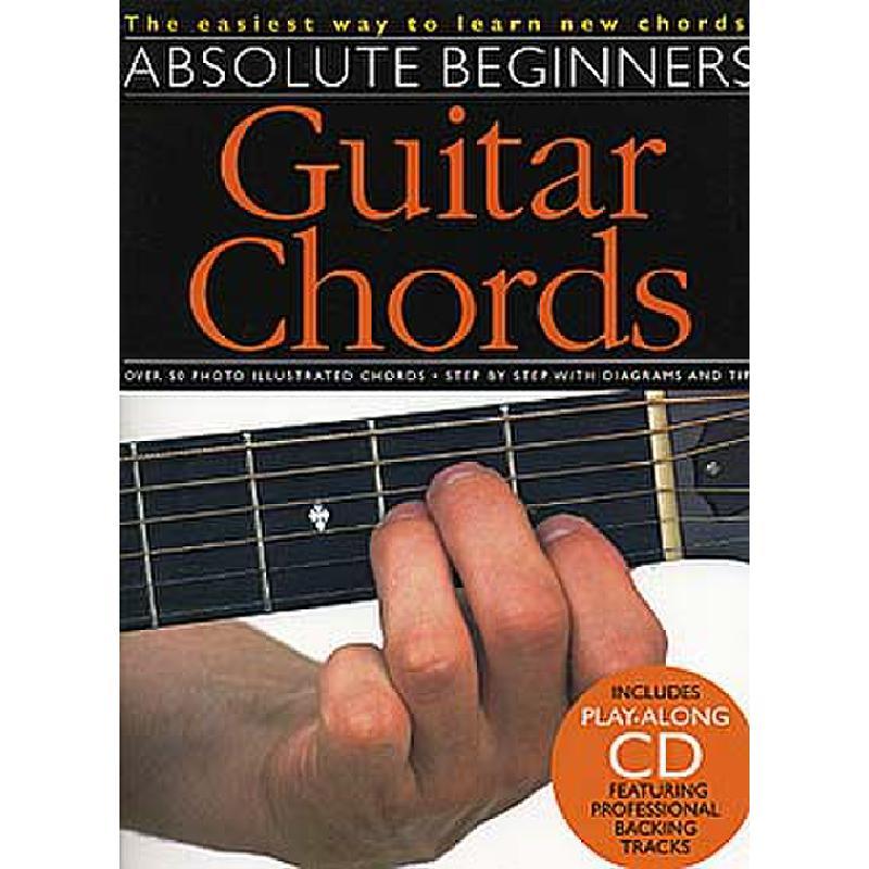 Titelbild für MSAM 969661R - Absolute beginners guitar chords
