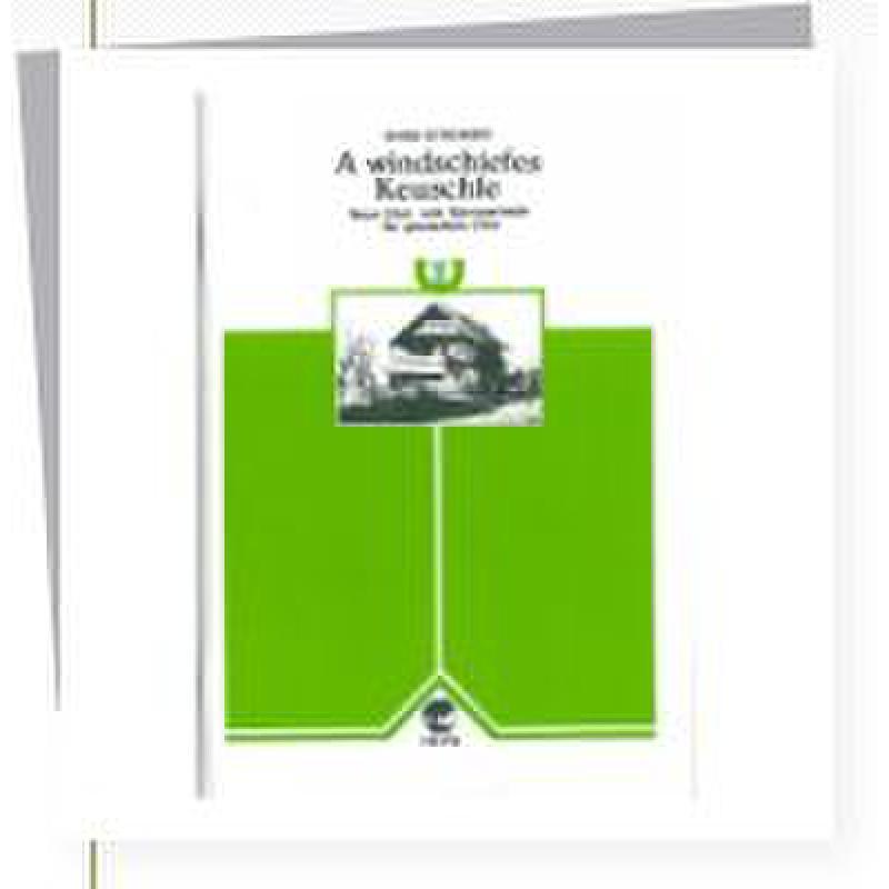 Titelbild für HEYN 360-5 - A WINDSCHIEFES KEUSCHLE