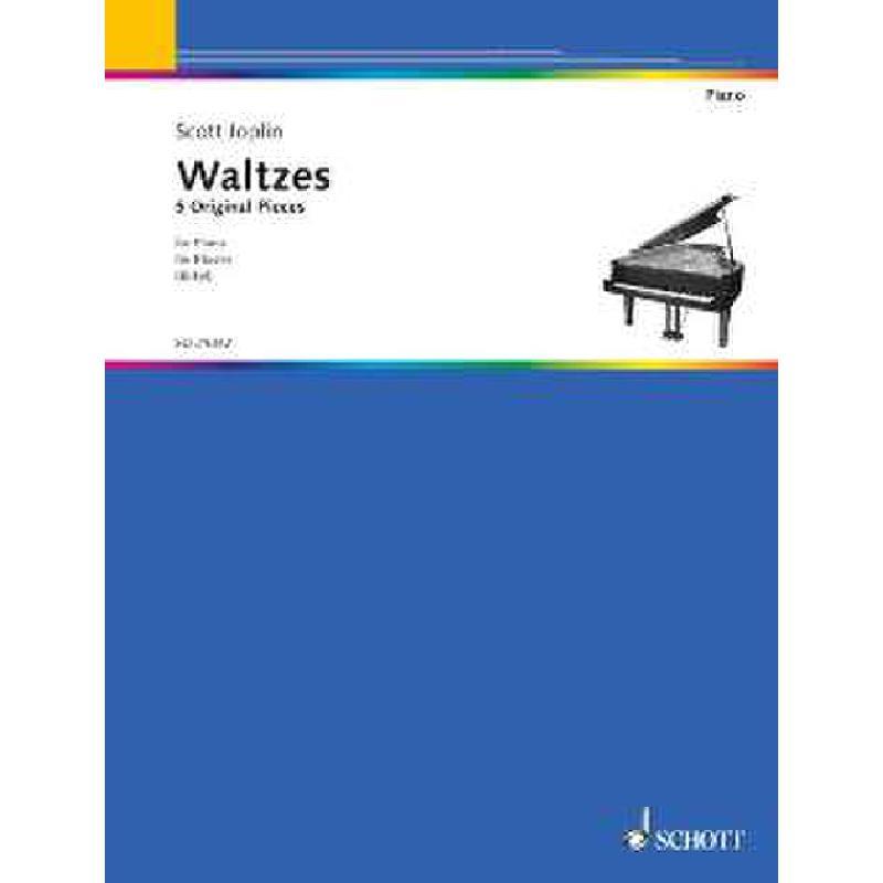 Titelbild für ED 21042 - WALTZES