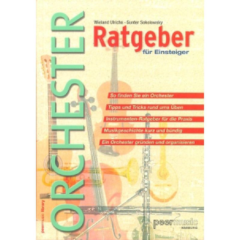Titelbild für PMV 10165 - Orchester Ratgeber für Einsteiger