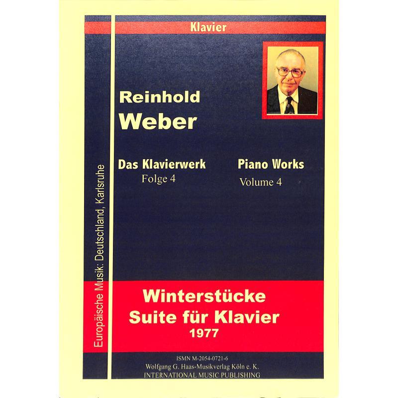 Titelbild für HAAS 0721-6 - WINTERSTUECKE (1977) WEBWV 5