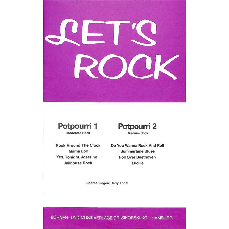 Titelbild für SIK -SO1 - LET'S ROCK POTPOURRI 1 + 2