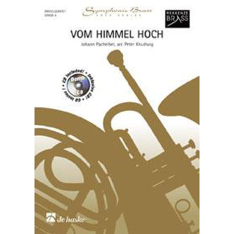 Titelbild für HASKE 1043518 - VOM HIMMEL HOCH - CHORALPRAELUDIUM