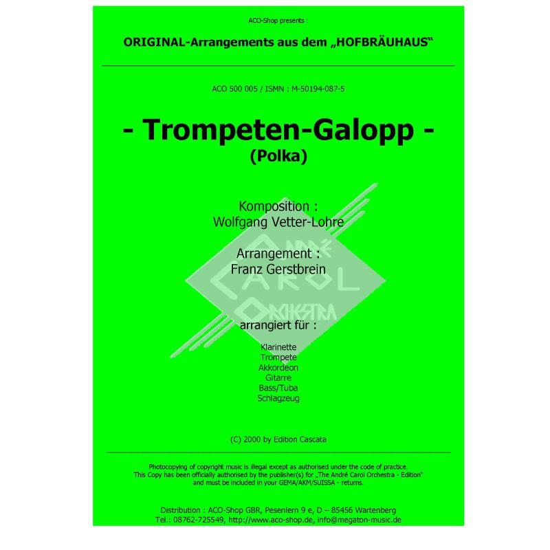 Titelbild für ACO 500005 - TROMPETEN GALOPP