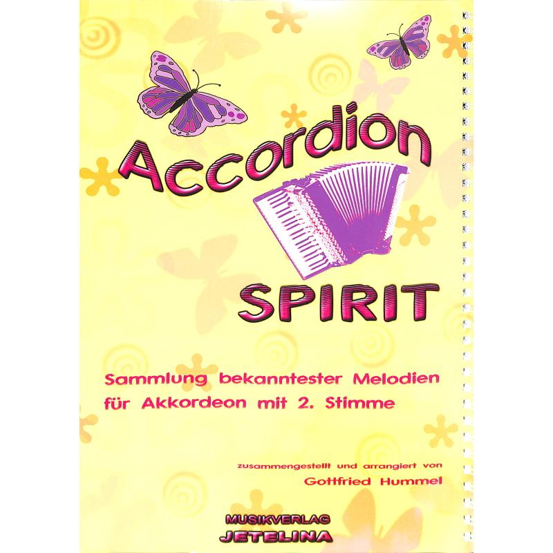 Notenbild für JETELINA 71010220B - ACCORDION SPIRIT