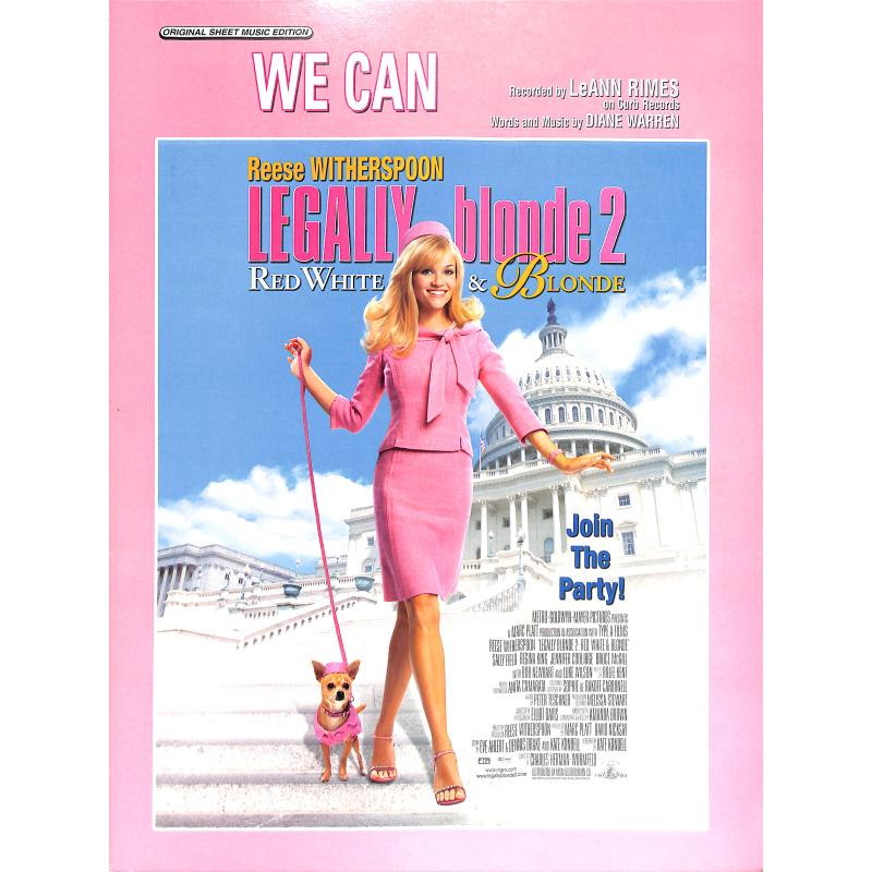 Titelbild für PVM 03081 - WE CAN (AUS LEGALLY BLONDE 2)