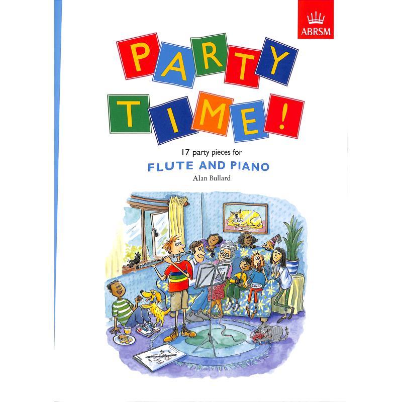 Titelbild für 978-1-85472-922-4 - Party time - 17 party pieces